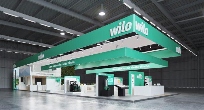 Wilo sanal fuar standı
