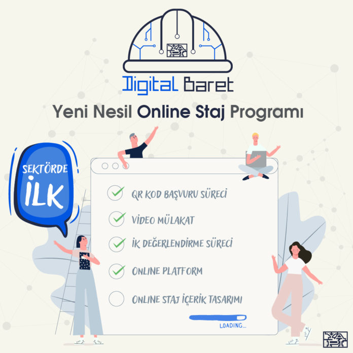 Digital Baret Online Staj Programı Basliyor