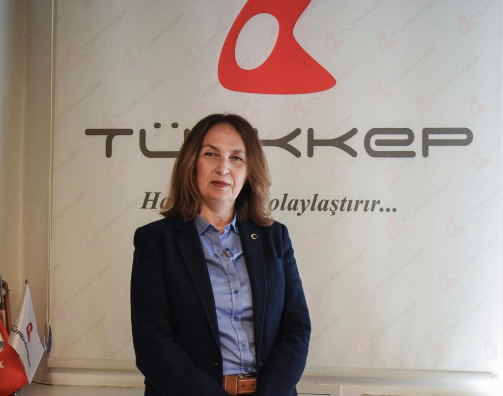 TÜRKKEP Genel Müdür Vekili Dilek Akyürek,
