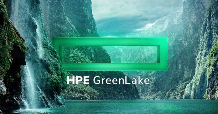 HPE GreenLake bulut hizmetleri
