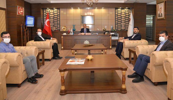 Rektor ozcelik'e Ziyaret Girisimciler Konya'da Bulusacak