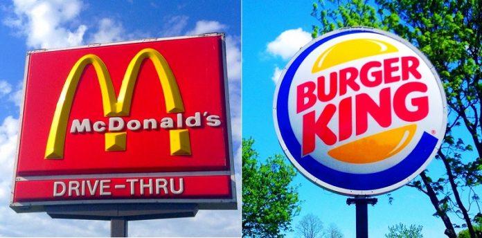 Burger King ve McDonald's Ambalajları Zararlı Kimyasallar İçeriyor