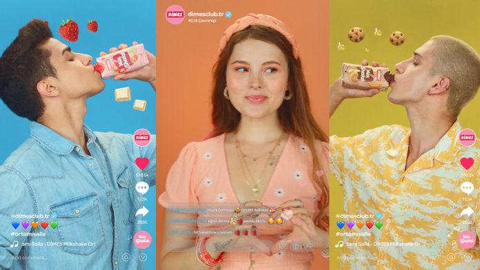 Dimes Milkshake'in TikTok Temalı Reklam Filmi