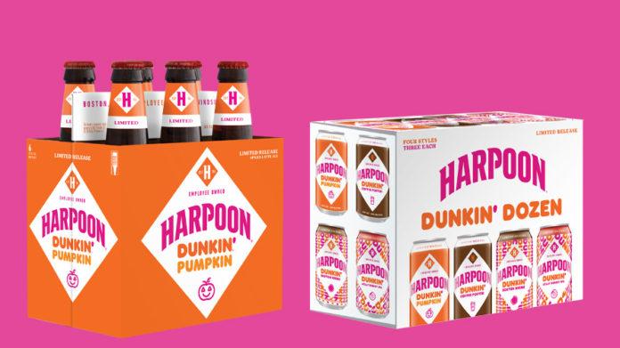 Dunkin' ve Harpoon'dan Donut Aromalı Bira