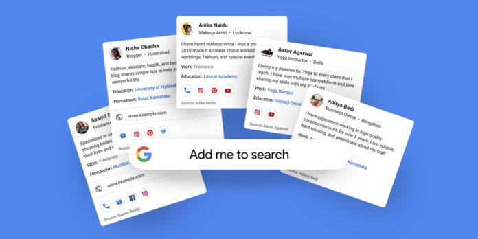Google'ın Sanal Kartvizit Özelliği: People Cards
