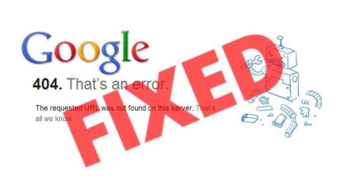 Google, Arama Sonuçlarını Karıştıran Bir Hatayla Karşılaştı