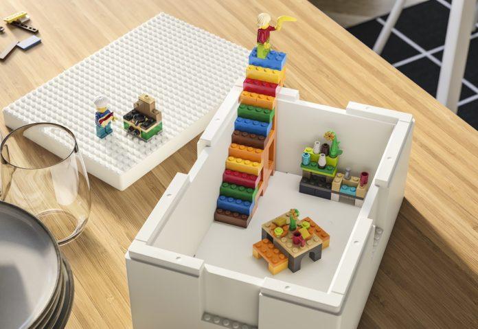 IKEA ve LEGO'dan Çocuklar İçin Saklama Kutusu