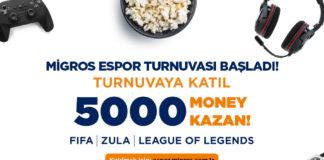 Migros, E-Spor Dünyasının Ritmini Belirliyor