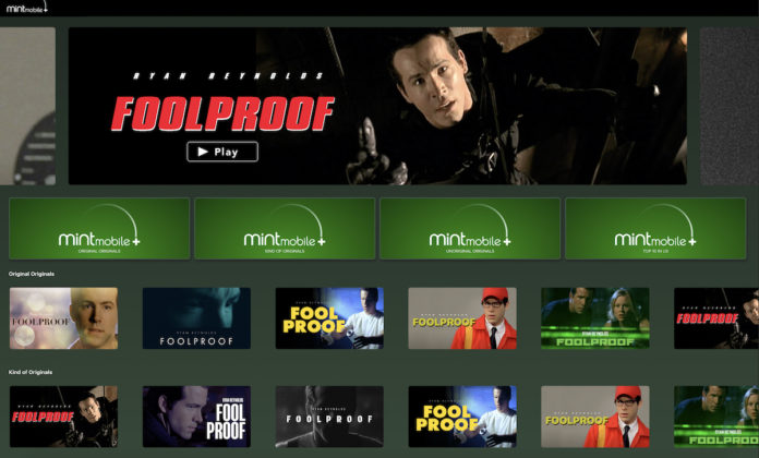 Ryan Reynolds'tan Sadece Tek Bir Film İçeren Yeni Yayın Platformu: Mint Mobile+