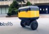 Yerli girişim Bizero, yarı otonom kargo robotunu tanıttı