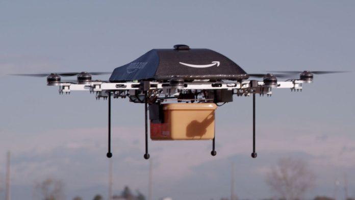 Amazon, Drone ile Teslimat Yapmak İçin İzin Aldı