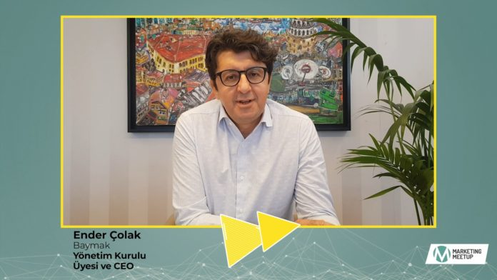 Baymak CEO'su Ender Çolak, Marketing Meetup 2020'de Neler Anlattı?