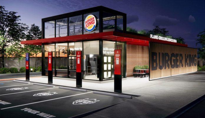 Burger King, Salgına Uyarlanan Yeni Restoranlarını Tanıttı