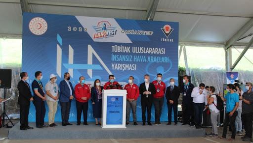İnsansız Hava Araçları Gaziantep Semalarında Yarıştı