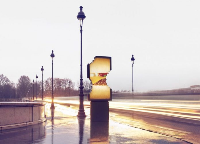 McDonald's'ın Yaratıcı Açık Hava Reklamı: Isırılmış Reklam Panoları