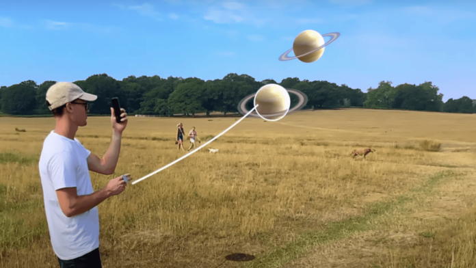 Telefonunuzla Jurassic Park Benzeri Filmler Oluşturmanızı Sağlayan Artırılmış Gerçeklik Uygulaması: Diorama