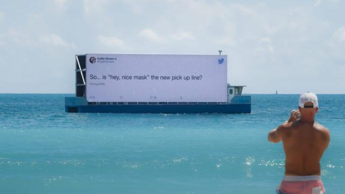 Twitter, Maske Kullanımıyla İlgili Tweetleri Açık Hava Reklamlarına Dönüştürdü