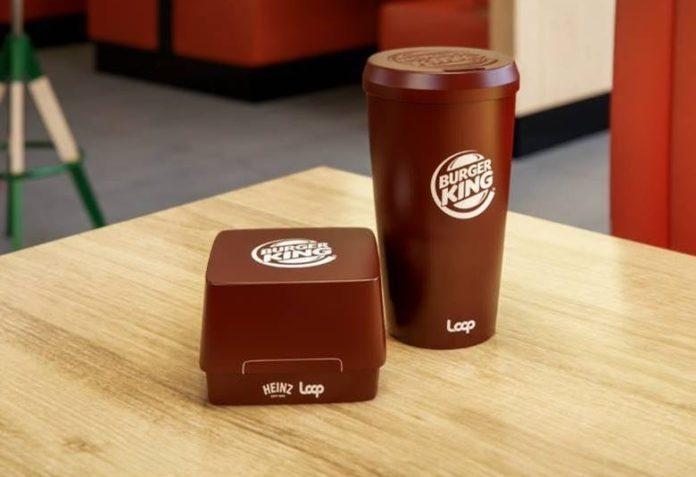 Burger King, Müşterilerine Yeniden Kullanılabilir Kaplarda Servis Yapmaya Başlıyor