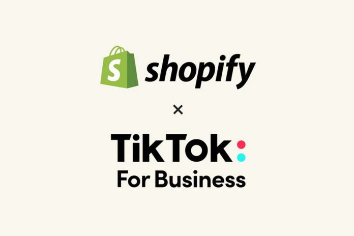 TikTok ve Shopify, Yeni Ortaklıklarını Duyurdu
