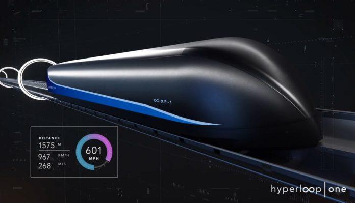 Virgin Hyperloop Geleceğin Ulaşım Sistemini Test Ediyor