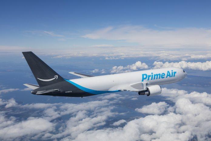 Amazon, Avrupa'daki İlk Amazon Air Merkezini Açtı
