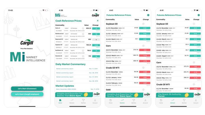 Cargill'den Türkiye'deki gıda üreticisi müşterileri için mobil uygulama: MiApp