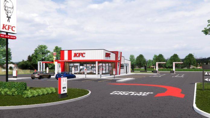 KFC, Salgına Uygun Yeni Restoranlarını Tanıttı