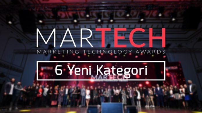 MarTech Awards'a 6 Yeni Kategori Eklendi