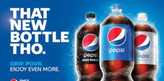 Pepsi, 30 Sene Sonra İlk Kez 2 Litrelik Şişesinin Tasarımını Değiştirdi