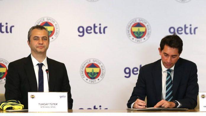 Teknoloji şirketi getir, Fenerbahçe'nin Zaman Sponsoru oldu