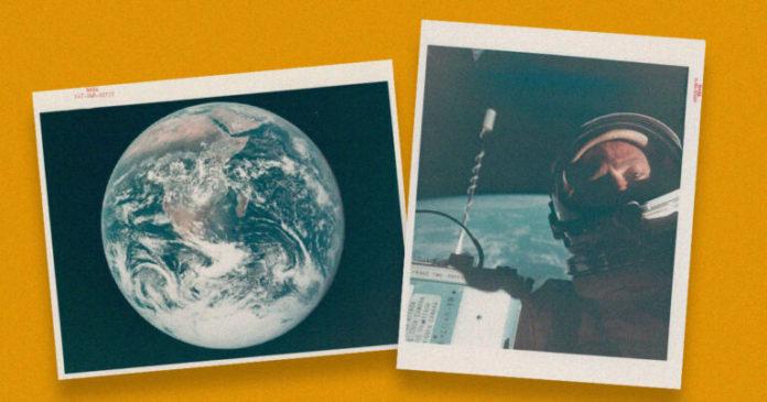 Uzayda Çekilen İlk Selfie Satışa Çıkarıldı