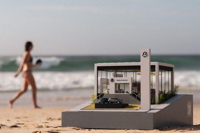 Volkswagen, Sokağa Galerisinin Minyatür Versiyonunu Yerleştirdi