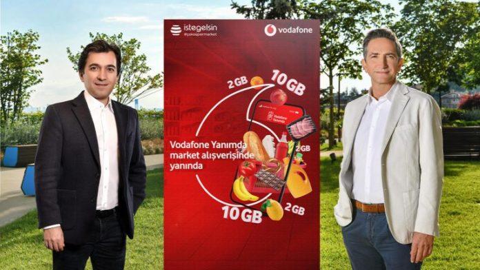 Vodafone, yerli girişim istegelsin iş birliğiyle online market hizmeti Süpermarket Yanımda hizmetini duyurdu