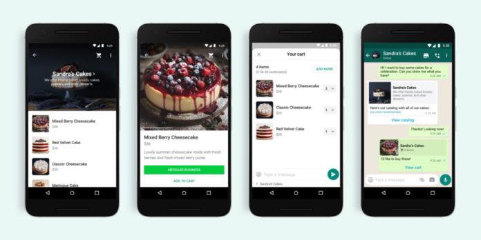 WhatsApp'a Alışveriş Sepeti Eklendi