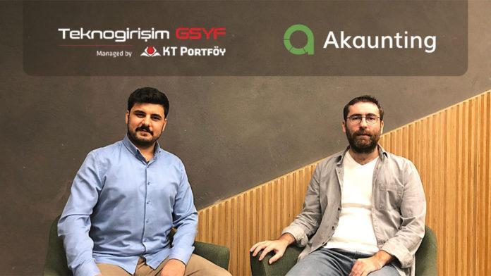 Ön muhasebe programı girişimi Akaunting, KT Portföy Teknogirişim GSYF liderliğinde 500 bin dolar yatırım aldı