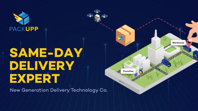 Aynı gün teslimat hizmeti veren yerli girişim PackUpp, 100 milyon TL değerleme ile yatırım aldı