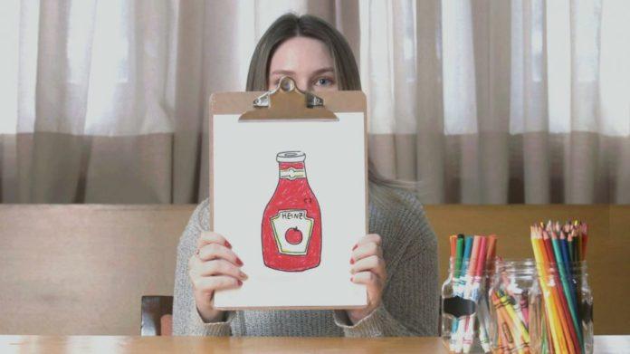 Kraft Heinz, Amatör Sanat Eserlerini Ketçap Etiketlerine Çeviriyor