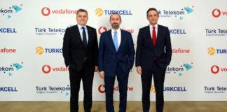 Turkcell, Türk Telekom ve Vodafone yerli uygulamalar için iş birliği yaptı