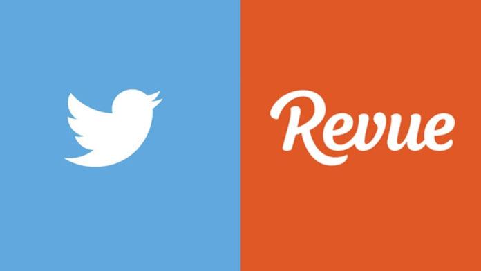 Twitter, Haber Bülteni Platformu Olan Revue'yü Satın Aldı