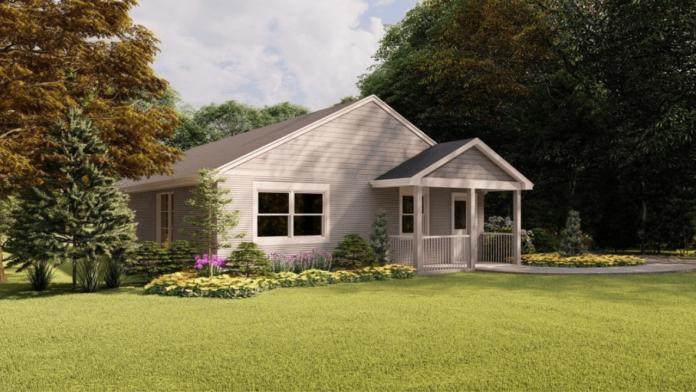 İnşaat sektörüne teknolojik alternatif 3D yazıcı ile inşa edilen ev