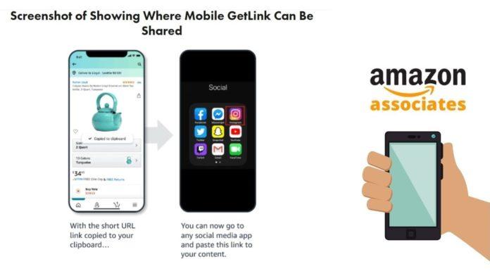 Amazon'un Yeni Satış Ortaklığı Programı Mobile GetLink
