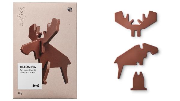 IKEA'dan Montajlanabilir Çikolatalar
