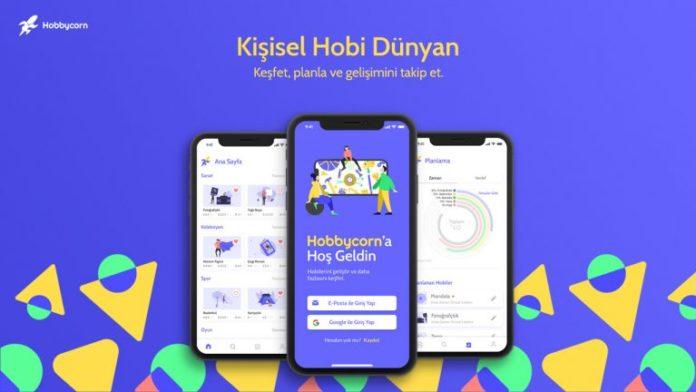 Kişiselleştirilmiş hobi deneyimi sunan mobil uygulama Hobbycorn