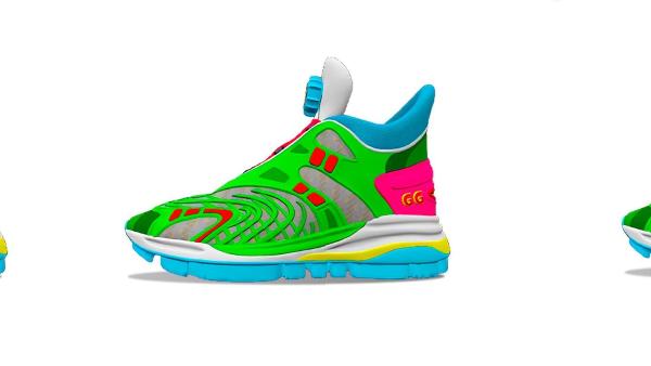 Gucci'den 12 Dolar'a, Giyilemeyen Dijital Ayakkabı