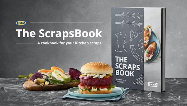 IKEA, Yemek Atıklarının Nasıl Tekrar Yemeğe Dönüşeceğini Anlatan Yemek Kitabı Yayınlıyor