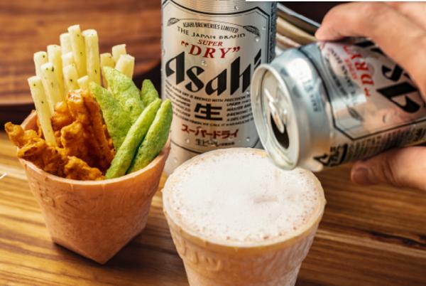 Japon Bira Markası Asahi Breweries, Yenilebilir Bardaklar Geliştiriyor