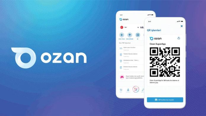 Ozan Elektronik Para, Ozan SuperApp üzerinden QR ile ödeme yapma ve alma özelliğini duyurdu