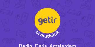 getir, Londra'dan sonra Paris, Amsterdam ve Berlin'e de açılıyor