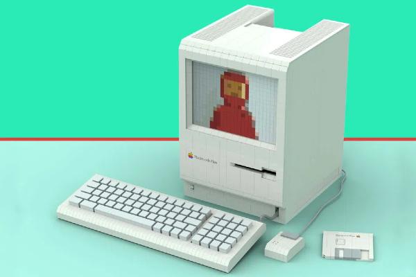 Apple'ın 1980'lerdeki Macintosh Plus'ı, LEGO ile Yeniden Tasarlandı