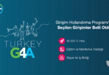 Bayer'in hızlandırma programı G4A Turkey 2021'ye seçilen 7 girişim